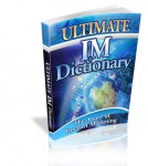 IM Definitions, Internet Marketing, IM Newbie