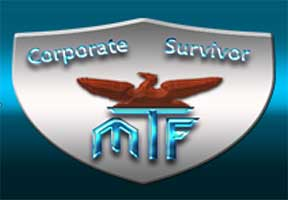 Corporate Survivor Shield Logo