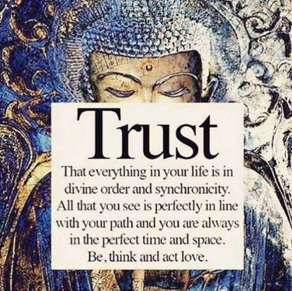 trust, divine, synchronicity