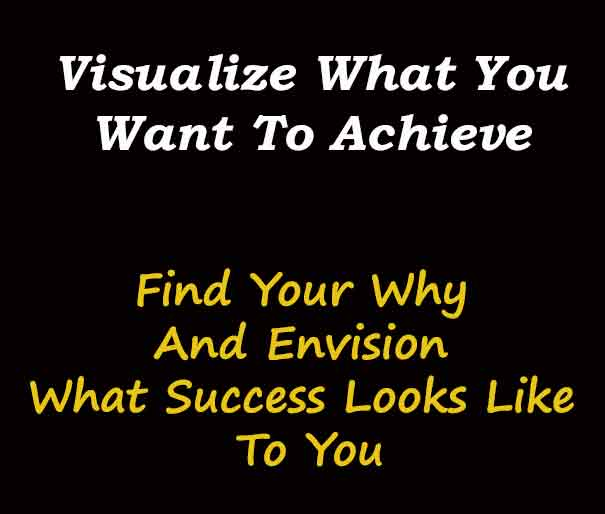 The Need To Visualize What You Want To Achieve